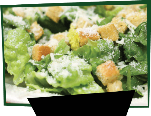 Menu Image Frame Caesar Salad