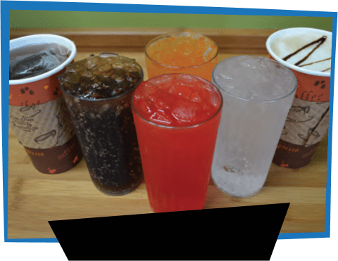 Menu Image Frame Soft Drinks